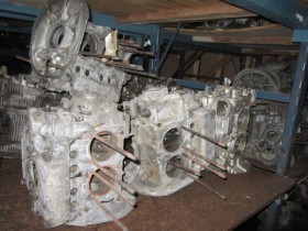VW engine block