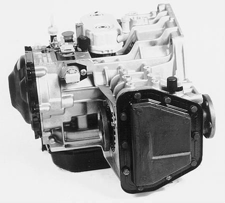vw fdf transmission side view